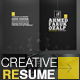 A Great Deal Creative Resume Templates 2in1 - GraphicRiver Item for Sale