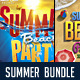 Summer Beach Party Bundle - GraphicRiver Item for Sale