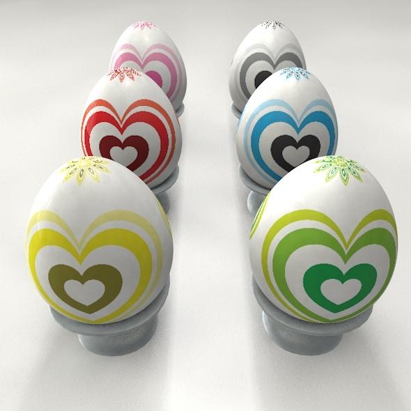 3DOcean Easter Stone Egg 11212181