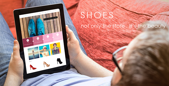 ThemeForest SHOES Responsive Shopify Theme 11212231