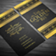Gold Res & Corporate Business Card - GraphicRiver Item for Sale