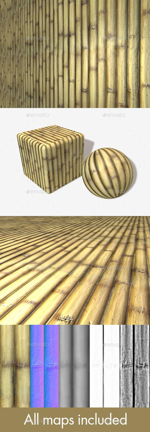 3DOcean Bamboo Seamless Texture 11212323