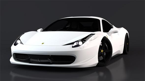 3DOcean Ferrari 458 Italia 11212589
