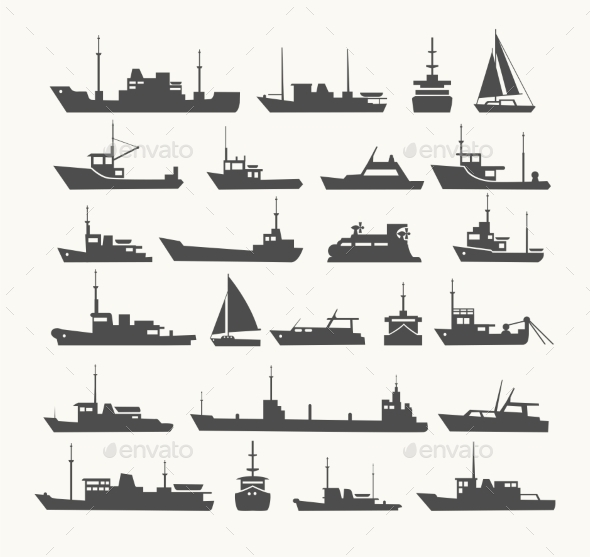 GraphicRiver Ships Set 11212591