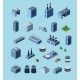 Industrial Buildings - GraphicRiver Item for Sale