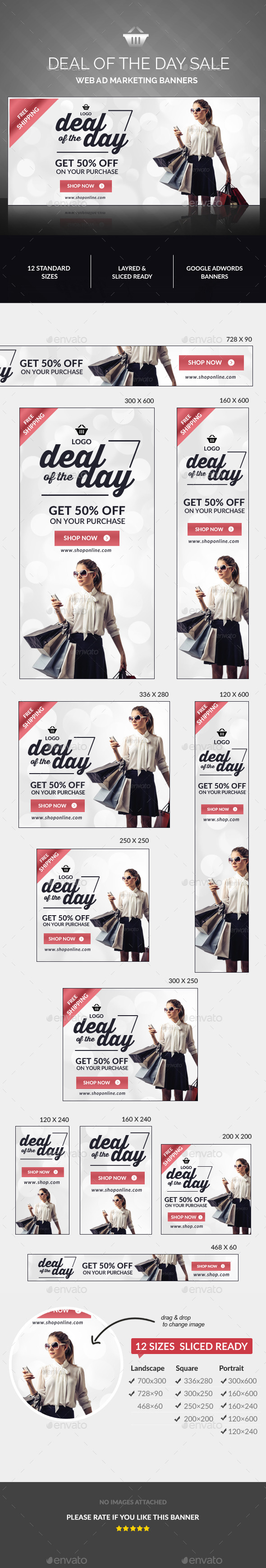 GraphicRiver Daily Deals Banners 11212671