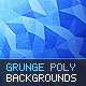 10 Grunge Polygon Backgrounds - GraphicRiver Item for Sale