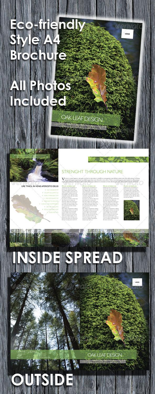 GraphicRiver Eco-friendly A4 Brochure 138659