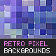 12 Retro Pixel Backgrounds - GraphicRiver Item for Sale