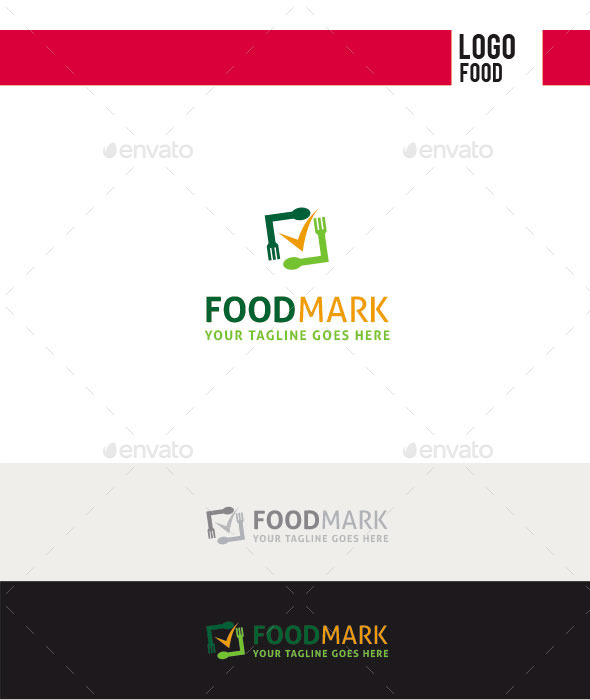GraphicRiver Food Mark Logo 11213113