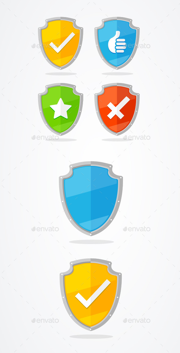 GraphicRiver Shield Set 11213121