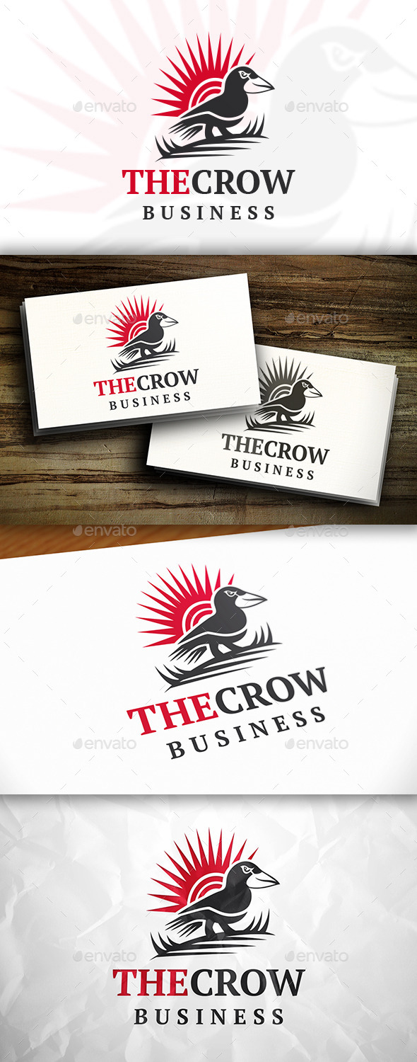 GraphicRiver Crow Logo 11213127