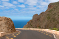 Road between mountains leading to the sea - PhotoDune Item for Sale