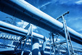 Pipes at thermal electic power station. Industry - PhotoDune Item for Sale