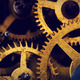 Grunge gear, cog wheels background. Industrial science, clockwork, technology. - PhotoDune Item for Sale