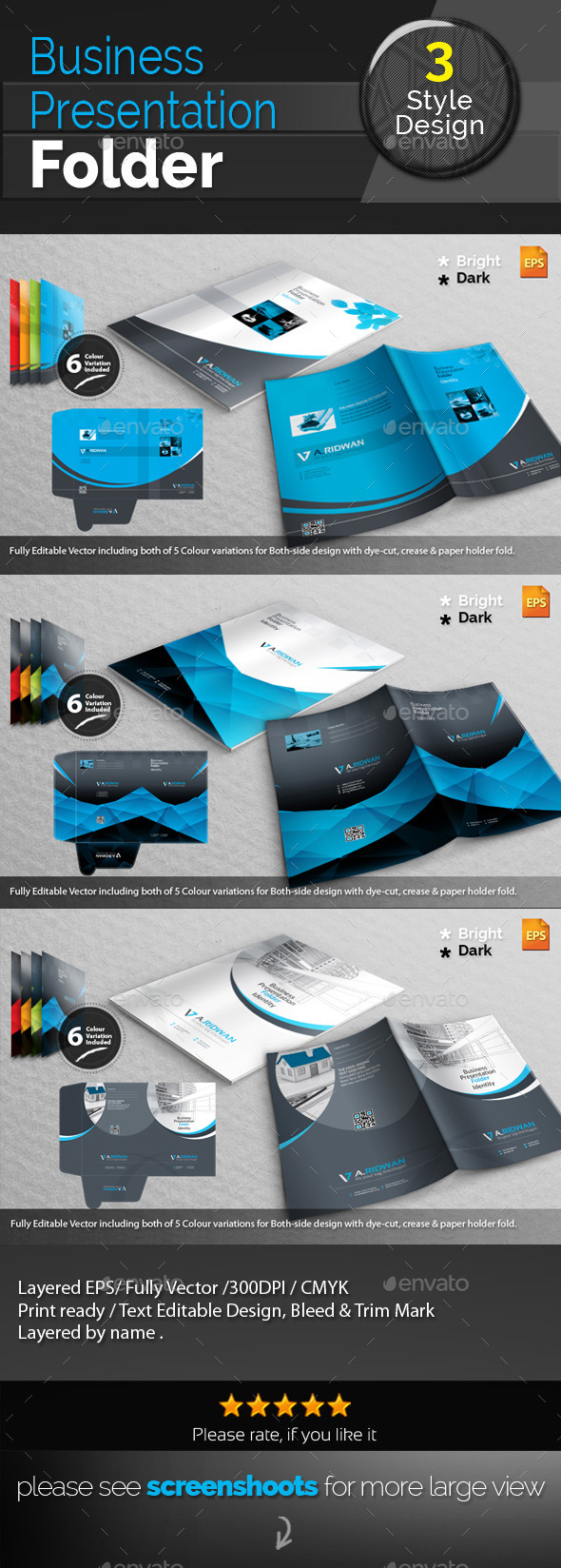 GraphicRiver Corporate Presentation Folder Bundle 11213675