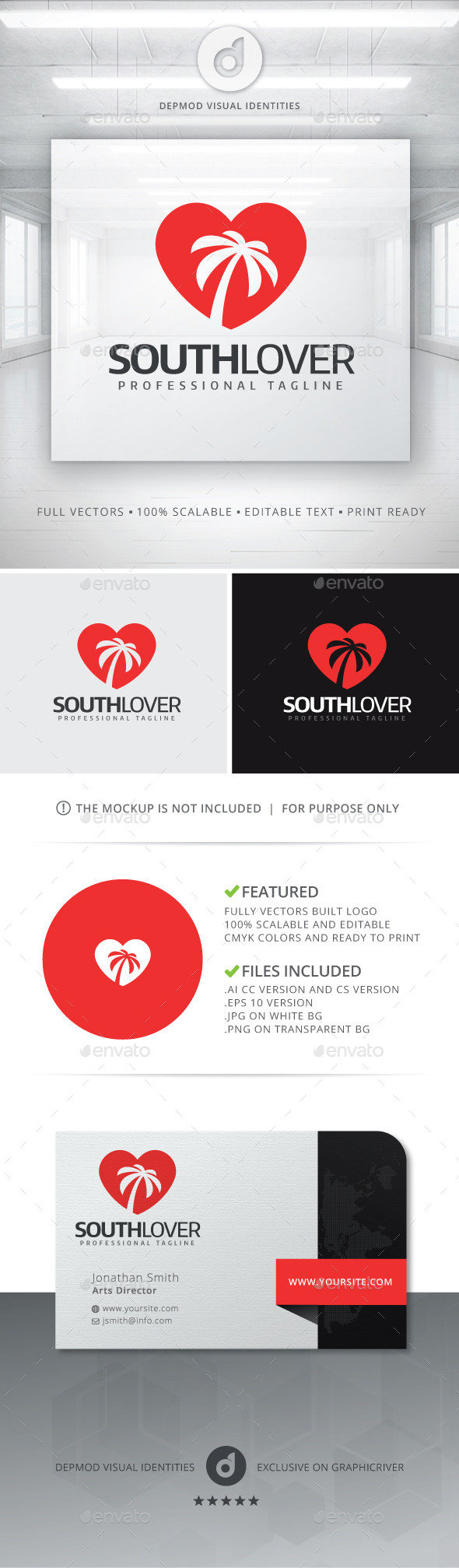 GraphicRiver South Lover Logo 11213731