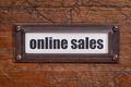 online sales file cabinet  label - PhotoDune Item for Sale