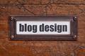 blog design file  label - PhotoDune Item for Sale