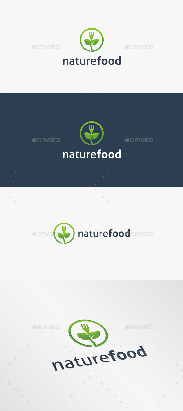 Nature Food - Logo Template