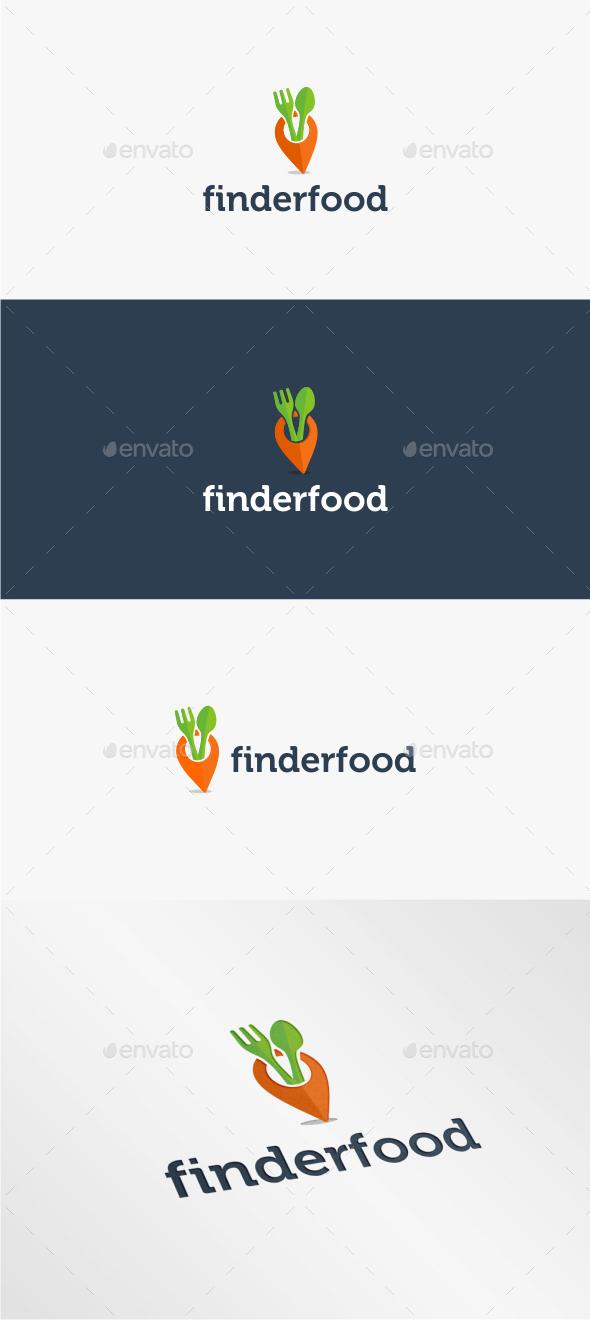 GraphicRiver Finder Food Logo Template 11214461