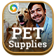 Pet Suppy Banners - GraphicRiver Item for Sale