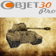 Tank low-poly  - 3DOcean Item for Sale