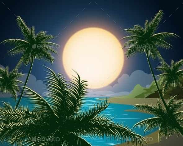 GraphicRiver Tropical Seascape 11214953