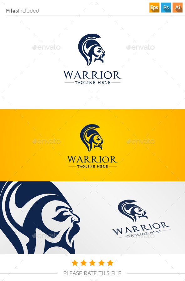 GraphicRiver Warrior Logo 11214968