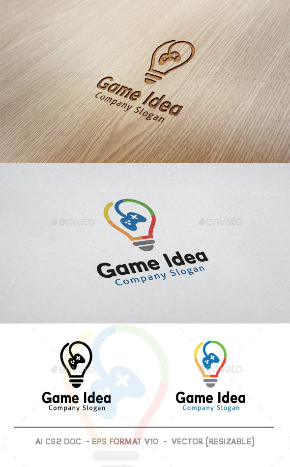 GraphicRiver Game Idea Logo 11215144
