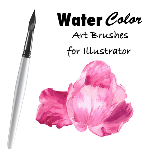 GraphicRiver Watercolor Vector Art Brushes 11203242
