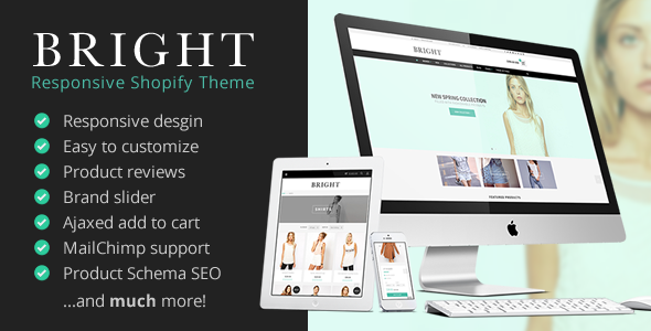 ThemeForest Bright Responsive Shopify Theme 11215335