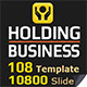 Business Holding Presentation Template - GraphicRiver Item for Sale
