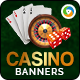 Casino Banners - GraphicRiver Item for Sale