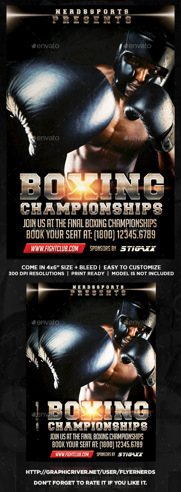 GraphicRiver Boxing Day Sports Flyer 11215793