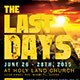 The Last Days: Church Flyer Template - GraphicRiver Item for Sale