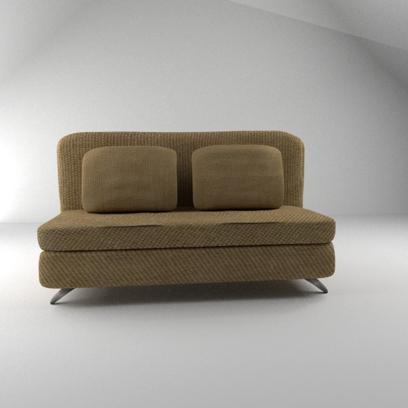 3DOcean Sofa and Pillows 11216165