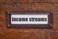 income streams file  label - PhotoDune Item for Sale