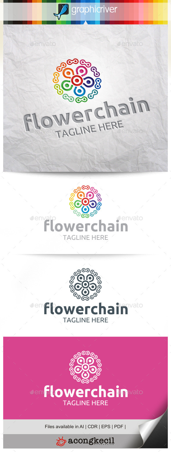 GraphicRiver Flower Chain V.5 11216385