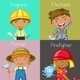 Occupations - GraphicRiver Item for Sale
