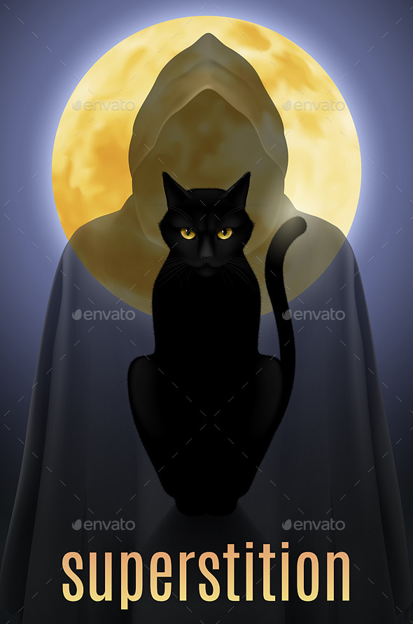 GraphicRiver Black Cat 11216537