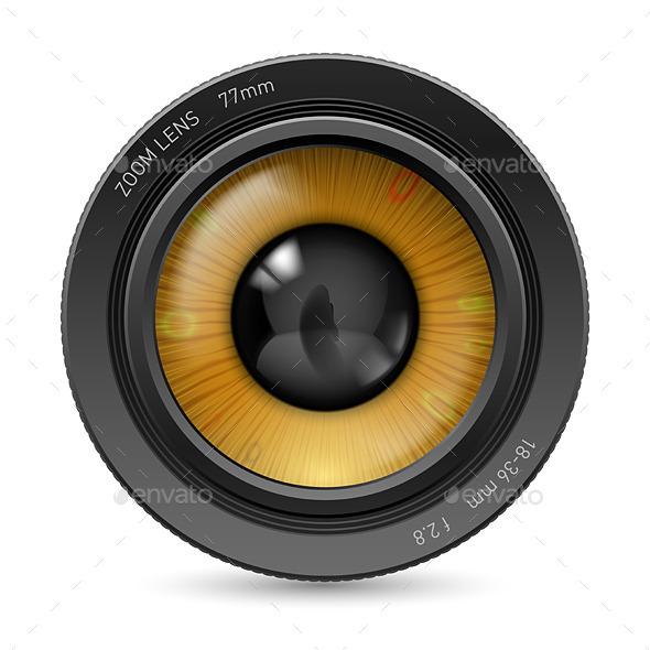 GraphicRiver Camera Lens Eye 11216540
