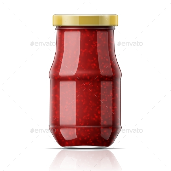 GraphicRiver Jar with Raspberry Jam 11216790