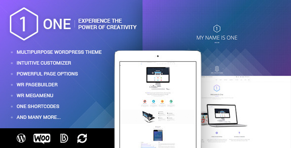 ThemeForest ONE Multipurpose WordPress Theme for WooCommerce 11140269