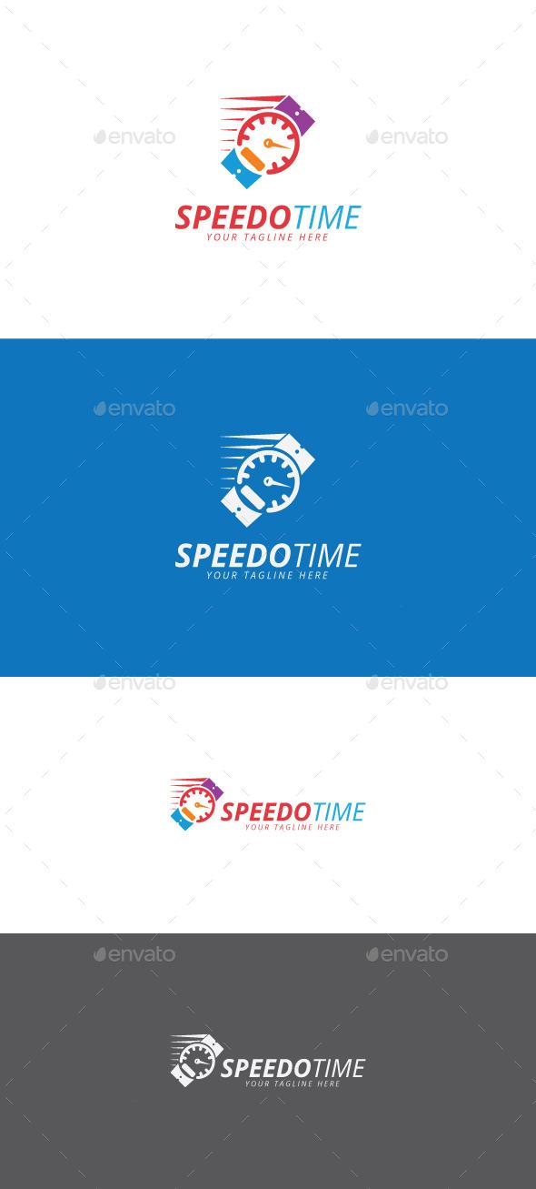 GraphicRiver Speedo Time Logo 11216854