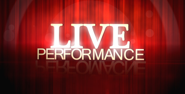 After Effects Project - VideoHive Live Performance 1125129