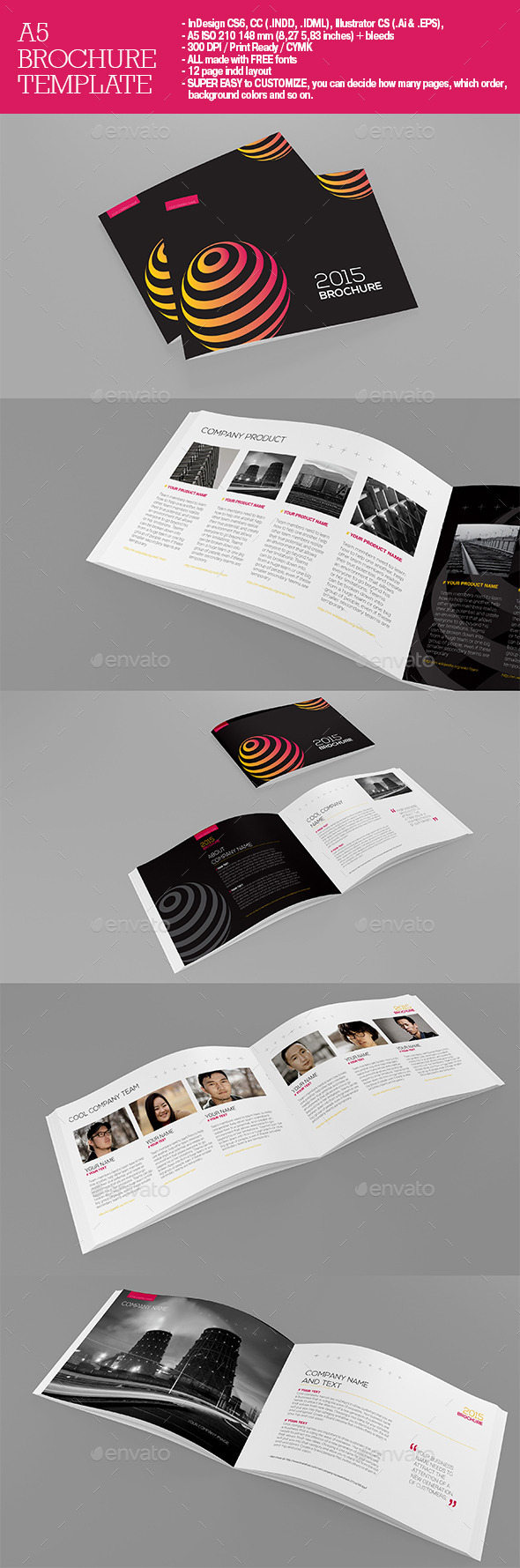 GraphicRiver A5 Brochure 11216932