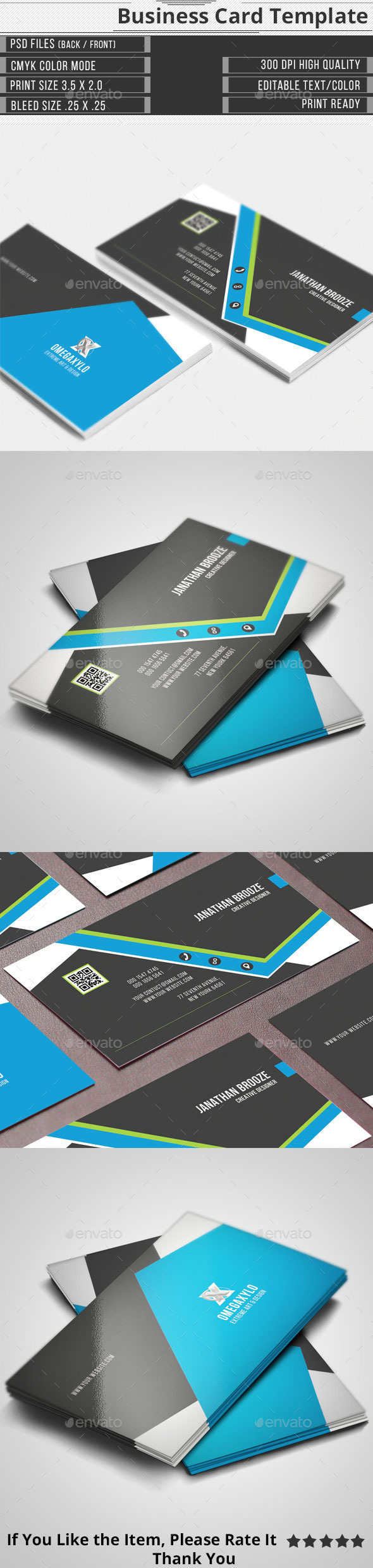 GraphicRiver Corporate Business Card 11217239