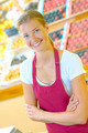 Young female supermarket worker - PhotoDune Item for Sale
