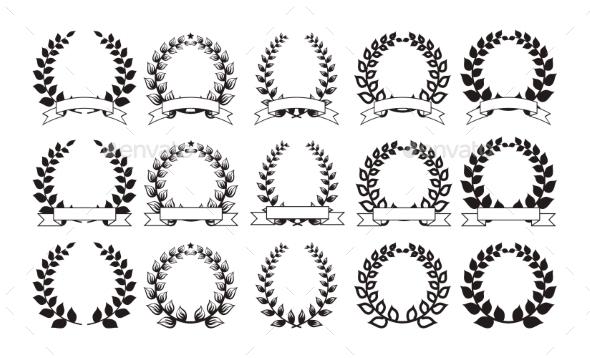 GraphicRiver Set of Round Frames 11217425